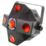 QTX Collider 2 FX IN 1 RGBWA LED Moonflower + Strobe DJ Light Like Swarm Stinger